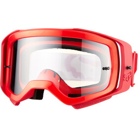 Fox Airspace II Prix Goggles, flame red/clear